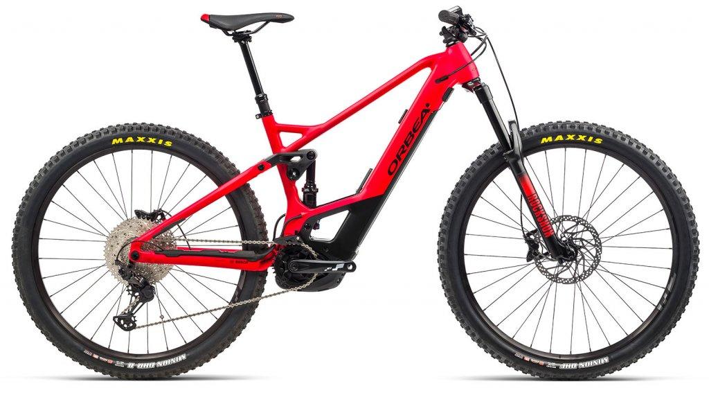 Orbea Wild FS H25 29 E-Bike MTB Komplettrad Gr. S/M bright red/matte black Mod. 2021