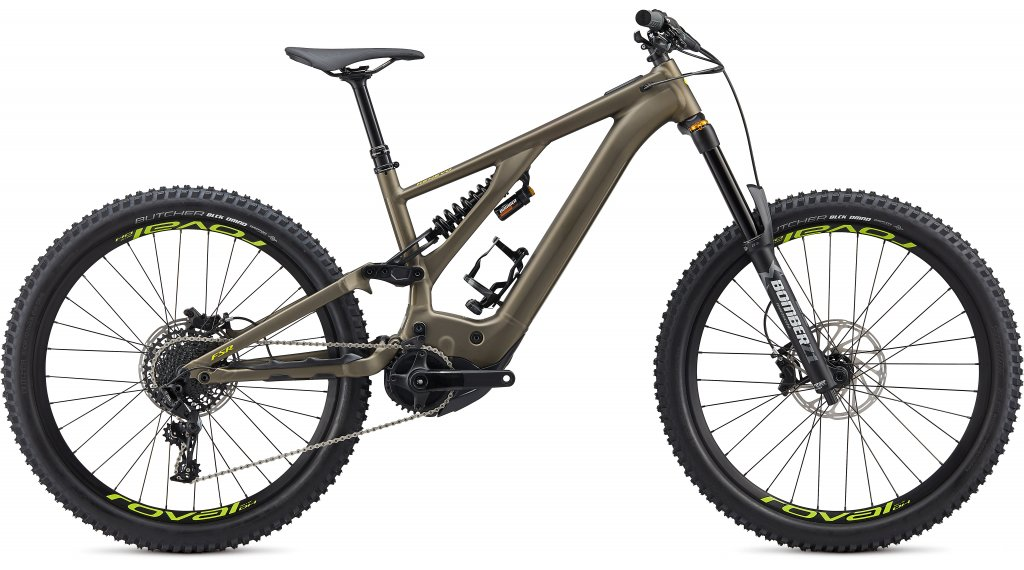 Specialized Kenevo Comp 27.5 MTB E- bike bike size S2 gunmetal/hyper green 2020