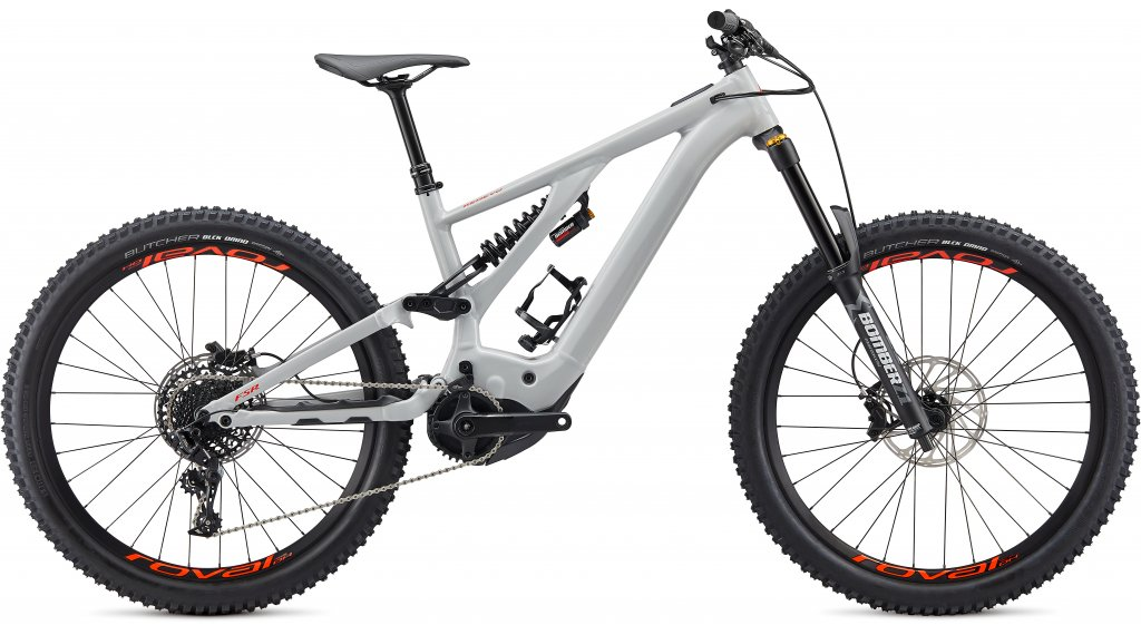 Specialized Kenevo Comp 27.5 MTB E-Bike Komplettrad Gr. S3 dove grey/rocket red Mod. 2020 - TESTBIKE