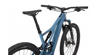 "Specialized Turbo Levo SL Comp Carbon 29"" MTB E-Bike Komplettrad Gr. M storm grey/rocket red Mod. 2020"