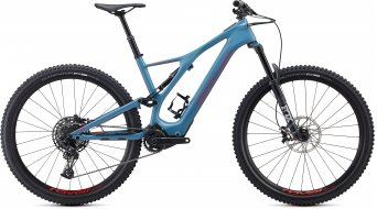"Specialized Turbo Levo SL Comp carbon 29"" MTB e-bike fiets storm grey/rocket red model 2020"