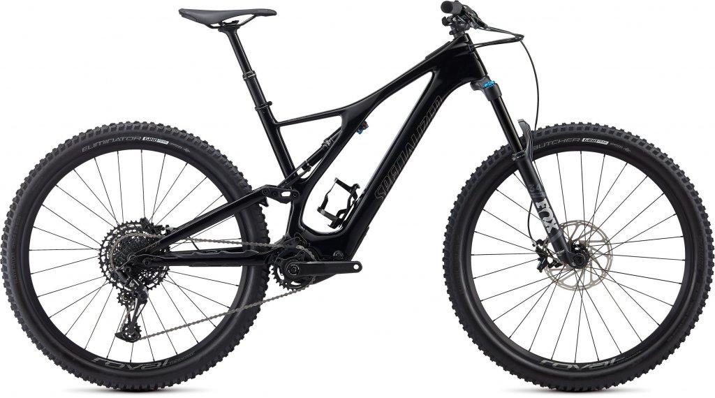 "Specialized Turbo Levo SL Comp Carbon 29"" MTB E-Bike Komplettrad Gr. S tarmac black/gunmetal Mod. 2020"