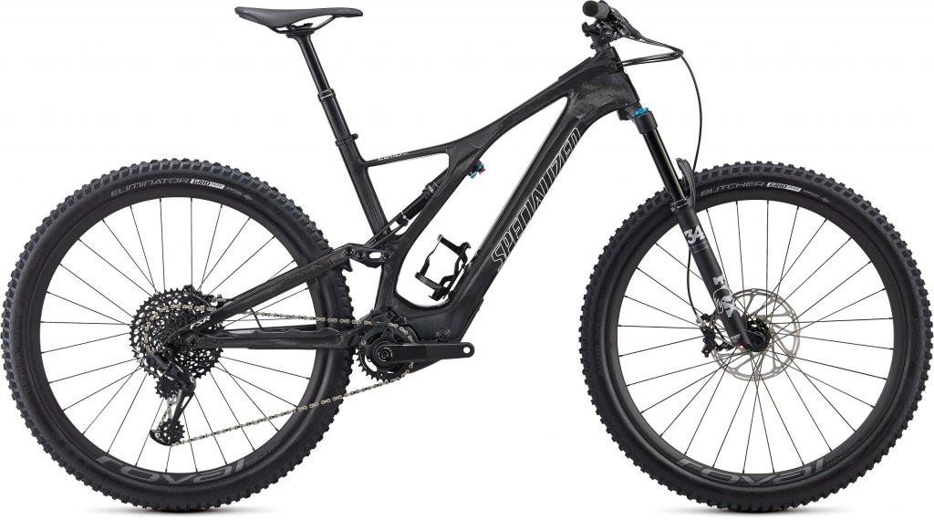 "Specialized Turbo Levo SL Expert Carbon 29"" MTB E-Bike Komplettrad Gr. S carbon/white Mod. 2020"