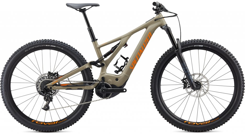 "Specialized Turbo Levo Comp 29"" MTB(山地) E-Bike 整车 型号 S taupe/voodoo 橙色 款型 2020"