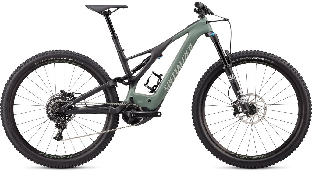 "Specialized Turbo Levo Expert Carbon 29"" MTB E-Bike bici completa mis. S spruce/sage green mod. 2020"