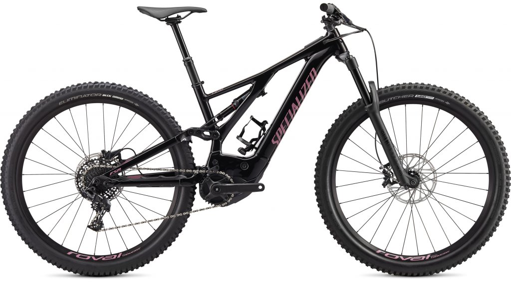 "Specialized Turbo Levo 29"" MTB E-Bike Komplettrad Gr. XL black/dusty lilac Mod. 2020"