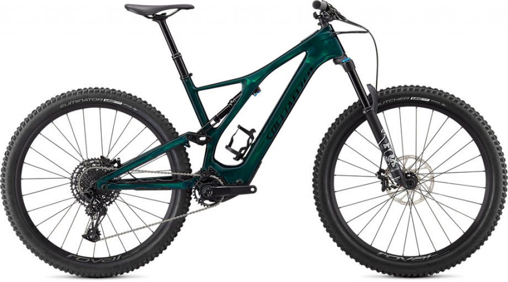 Specialized Turbo Levo SL Comp Carbon 29 E-Bike MTB Komplettrad Gr. L green tint carbon/black Mod. 2021