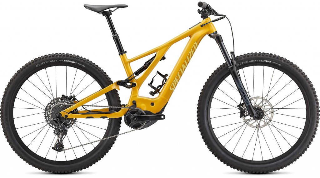 Specialized Turbo Levo 29 E-Bike MTB Komplettrad Gr. S gloss brassy yellow Mod. 2021
