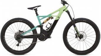 Specialized Kenevo FSR Expert 6Fattie 650B+ / 27.5+ MTB E-Bike Komplettrad black/cali fade/hyper green Mod. 2018 - TESTBIKE