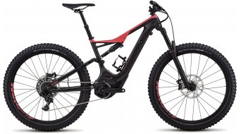 Specialized Levo FSR Comp Carbon 6Fattie 650B+ / 27.5+ MTB E-Bike Komplettrad carbon/acid red Mod. 2018 - TESTBIKE