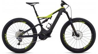 Specialized S-Works Levo FSR Carbon 6Fattie 650B+ / 27.5+ MTB E-Bike Komplettrad Gr. M carbon/hyper green Mod. 2018 - VORFÜHRTEIL - es befindet sich ein kleiner Kratzer an der Vorbauklemmung - ein Decal des Vorderrades löst sich auf ca. 2 cm
