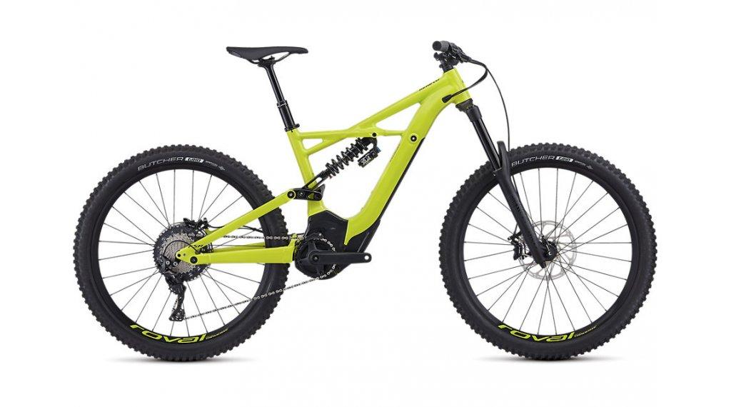 """Specialized Turbo Kenevo FSR Comp 6Fattie 650B+/27.5""""+ MTB e-bike fiets maat S hyper green/black model 2019"""