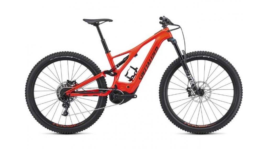 "Specialized Levo FSR Comp carbono 29"" MTB E-Bike bici completa tamaño M rocket rojo/negro Mod. 2019- BICI DE PRUEBA"