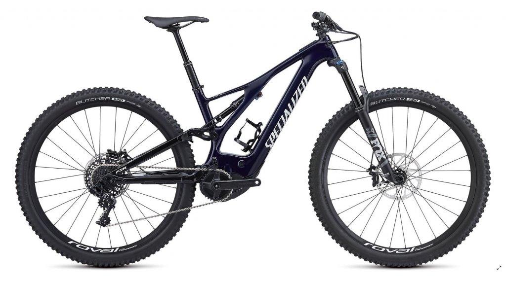 "Specialized Levo FSR Comp carbono 29"" MTB E-Bike bici completa tamaño XL azul tint carbono/blanco Mod. 2019"