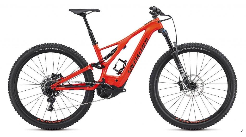 "Specialized Levo FSR Comp carbono 29"" MTB E-Bike bici completa tamaño L rocket rojo/negro Mod. 2019"