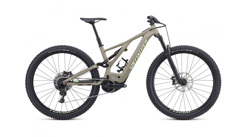 "Specialized Levo FSR Comp 29"" MTB(山地) E-Bike 整车 型号 XL taupe/acid kiwi 款型 2019"