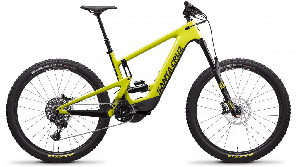 "Santa Cruz Heckler CC 27.5"" E-Bike MTB Komplettrad R-Kit Gr. M yellow Mod. 2020"