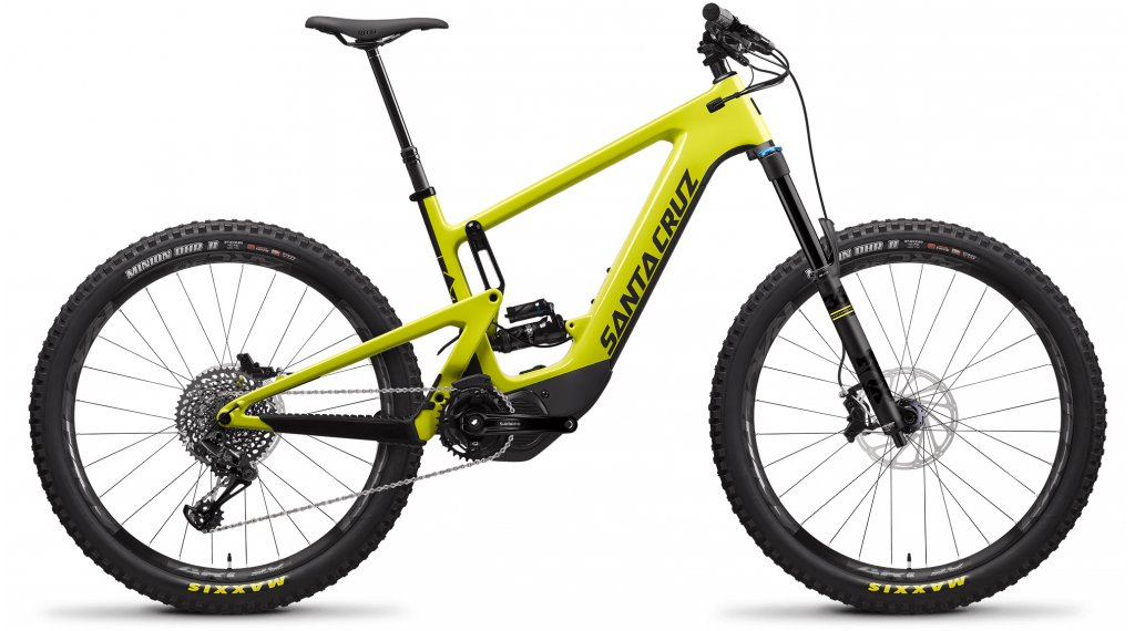 "Santa Cruz Heckler CC 27.5"" E-Bike MTB Komplettrad S-Kit Gr. S yellow Mod. 2020"
