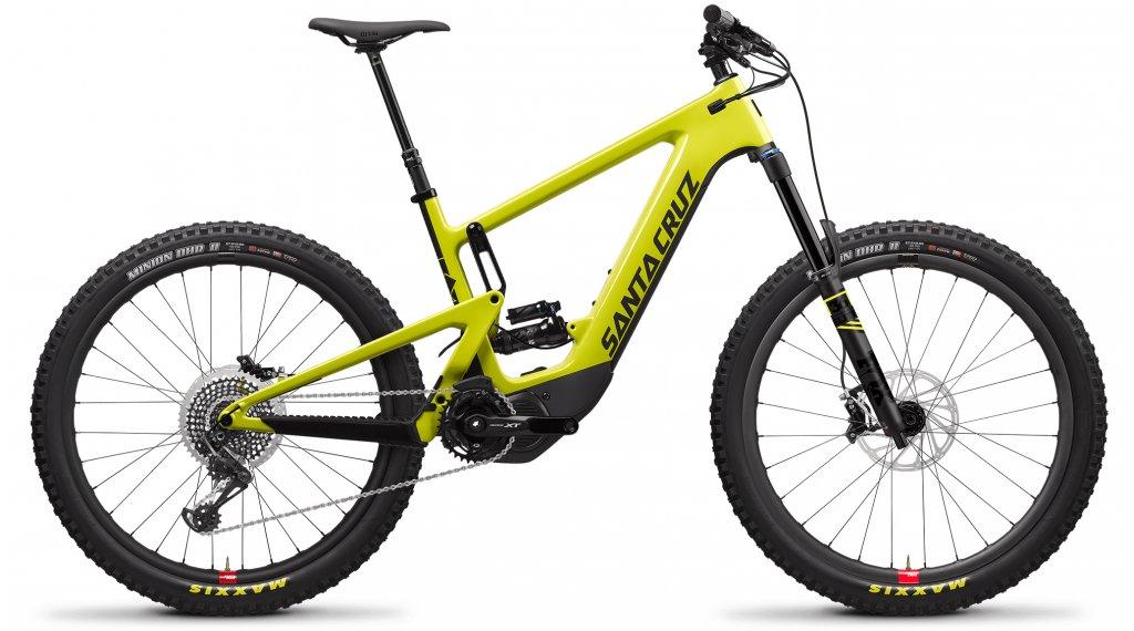 "Santa Cruz Heckler CC 27.5"" E-Bike MTB Komplettrad X01-Kit / Reserve-Laufräder Gr. S yellow Mod. 2020"