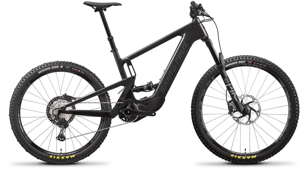 Santa Cruz Heckler 8 CC MX 29/27.5 E-Bike MTB Komplettrad XT-Kit Gr. M gloss carbon Mod. 2021