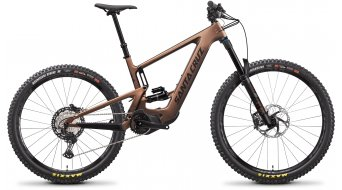 "Santa Cruz Bullit 3 CC Mx 29""_/_27.5"" E-Bike MTB bici completa XT- kit_/_RockShox Super Deluxe Select+ mis._L_matte_copper mod. 2022"