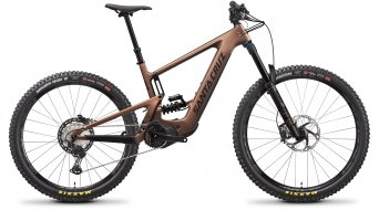 "Santa Cruz Bullit 3 CC Mx 29""_/_27.5"" E-Bike MTB bici completa XT- kit_/_RockShox Super Deluxe Select+ Coil mis._L_matte_copper mod. 2022"
