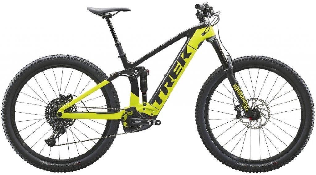 """Trek Rail 9.7 29"""" MTB(山地) E-Bike 整车 型号 S carbon/volt 款型 2020"""