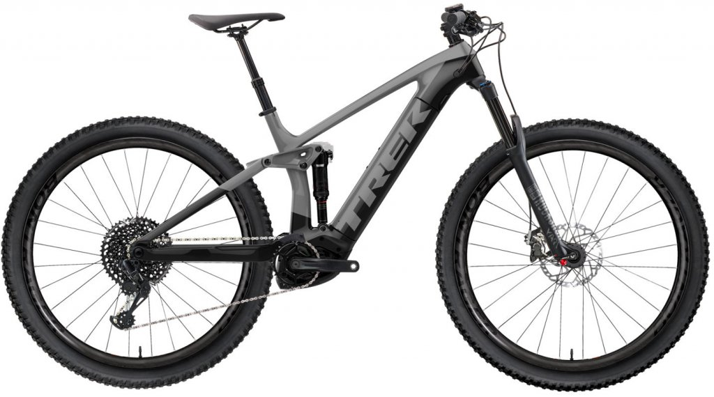 "Trek Rail 9.7 29"" MTB E- bike bike size L slate/trek black 2020"
