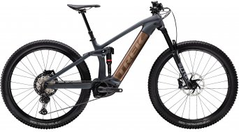 "Trek Rail 9.8 XT 29"" E-Bike MTB Komplettrad Gr. L solid charcoal to root beer ano decal Mod. 2020"
