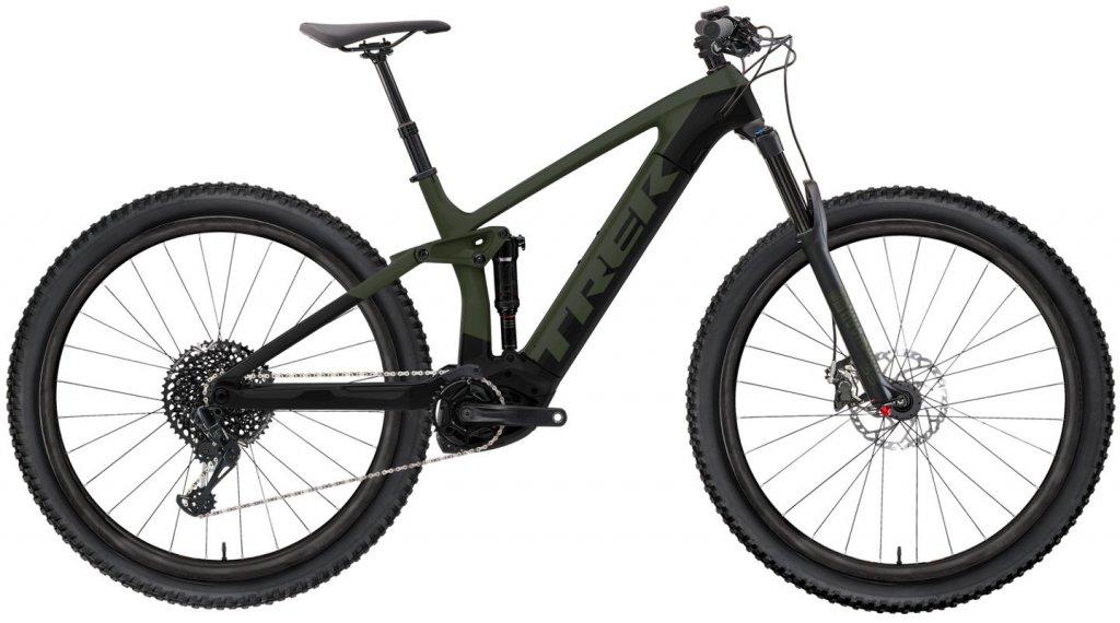 "Trek Rail 5 29"" MTB(山地) E-Bike 整车 型号 S matte olive grey/Trek black 款型 2020"