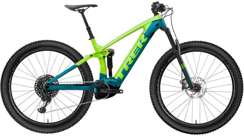 "Trek Rail 7 29"" E-Bike MTB(山地) 整车 型号 XL volt/teal 款型 2020"