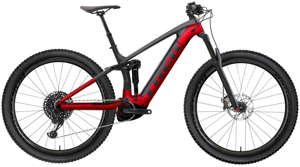 "Trek Rail 7 29"" E-Bike MTB(山地) 整车 型号 M dnister black/rage red 款型 2020"