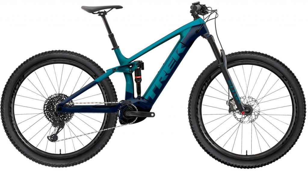"Trek Rail 9 29"" E-Bike MTB(山地) 整车 型号 M teal/nautical navy 款型 2020"