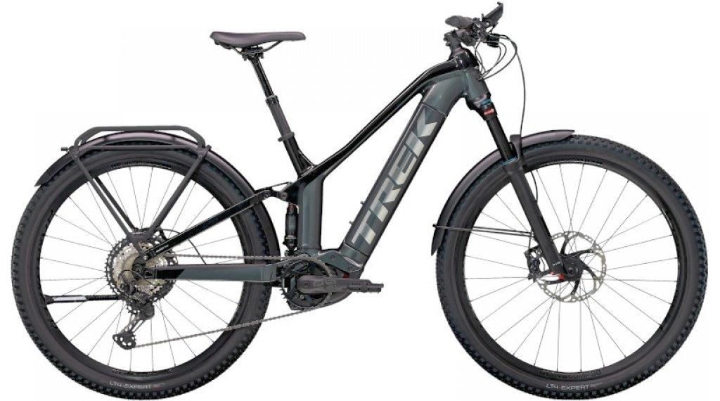 "Trek Powerfly FS 9 Equipped 27.5"" E-Bike MTB Komplettrad Gr. XS lithium grey/trek black Mod. 2021"