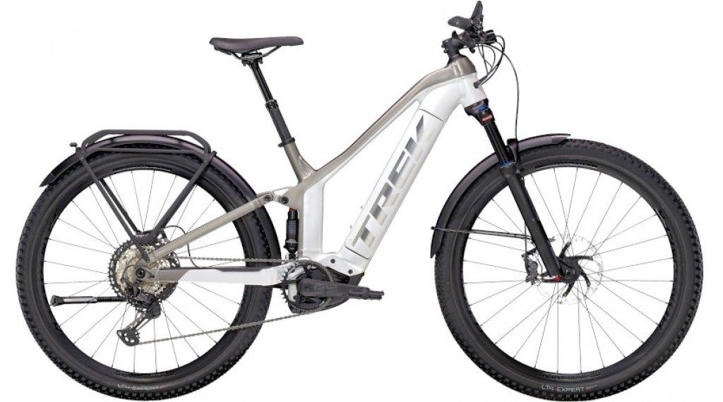 "Trek Powerfly FS 9 Equipped 29"" E-Bike MTB Komplettrad Gr. XL crystal white/metallic gunmetal Mod. 2021"