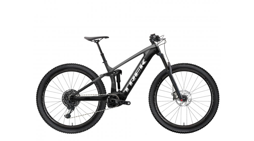 "Trek Rail 9.7 NX 29"" E-Bike MTB Komplettrad Gr. XL lithium grey/trek black Mod. 2021"