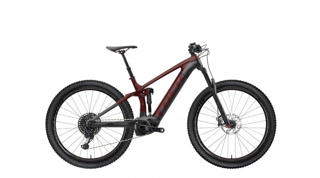 "Trek Rail 9.8 XT 29"" E-Bike MTB Komplettrad Gr. L carbon red smoke/lithium grey Mod. 2021"