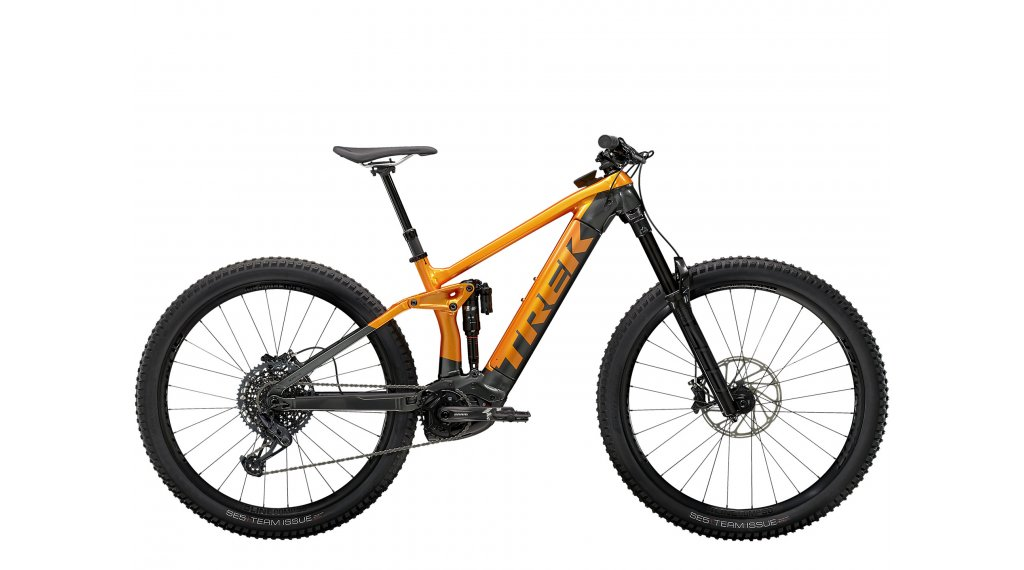 "Trek Rail 9 GX 29"" E-Bike MTB Komplettrad Gr. XL factory orange/lithium grey Mod. 2021"