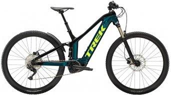 """Trek Powerfly FS 4 500W 27.5"""" elektromos kerékpár MTB komplett kerékpár Méret_S_sötét_aquatic/Trek_black Mod._2022"""