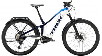 "Trek Powerfly FS 9 EQ 27.5"" E-Bike MTB Komplettrad Gr._XS_crystal_white/alpine-dark_blue_fade Mod._2022"