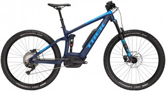 "Trek Powerfly FS 8 LT 650B+/27.5""+ VTT E- vélo vélo taille mat deep dark blue/gloss waterloo blue Mod. 2018"