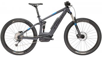 "Trek Powerfly FS 5 650B/27.5"" MTB E-Bike bici completa mis. 54.6cm (21.5"") matte solid charcoal/Trek black mod. 2018"