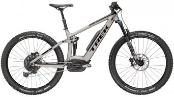 "Trek Powerfly FS 9 650B+ / 27.5""+ MTB E-Bike Komplettbike matte metallic gunmetal/gloss Trek black Mod. 2018"