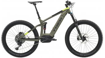 "Trek Powerfly LT 9 Plus 27,5"" MTB(山地) E-Bike 整车 matte olive grey 款型 2019"