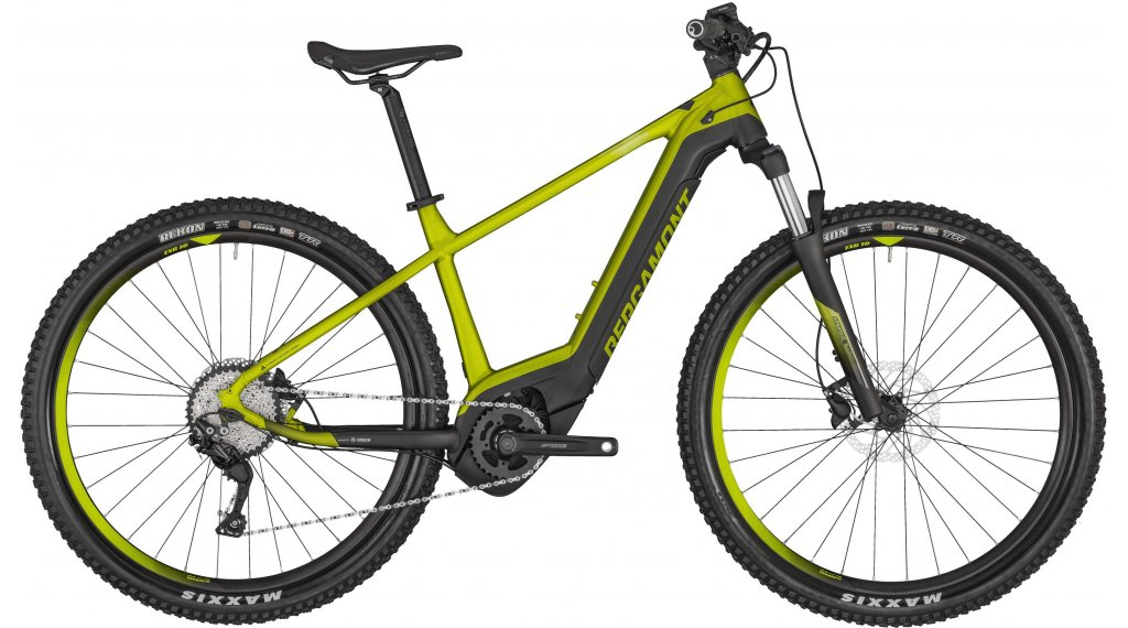 "Bergamont E-Revox Sport 29"" E- bike MTB bike size S lime green metallic/black (matt) 2020"