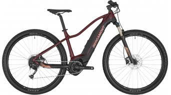 "Bergamont E-Revox FMN 29"" E- bike MTB ladies bike size S burgundy red/black/rosé (matt/shiny) 2020"
