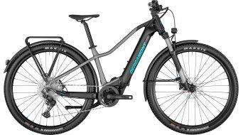 Bergamont E-Revox Pro FMN EQ 29 E-Bike MTB Komplettrad Damen Gr. M matte chrome/black/turquoise Mod. 2021