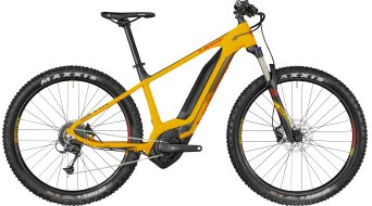 "Bergamont E-Revox 6.0 Plus 650B+ / 27.5""+ MTB E-Bike Komplettbike melon yellow/black/red (matt) Mod. 2018"