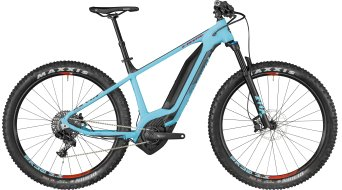 "Bergamont E-Revox 8.0 Plus 650B+/27.5""+ MTB E- bike bike coral blue/black/red (matt) 2018"