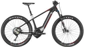 "Bergamont E-Revox Elite Plus 650B+/27.5""+ MTB E- bike bike black/silver/red (matt) 2018"